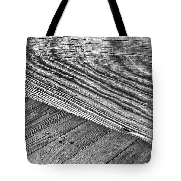Tote Bag featuring the photograph Bridge At The Edge Of Nowhere by Phil Mancuso