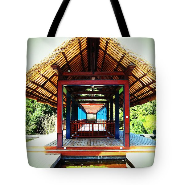 Bridge At Ubud Tote Bag