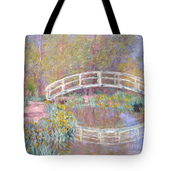 Bridge In Monet's Garden Tote Bag