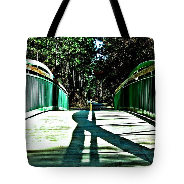 Bridge Of Shadows Tote Bag