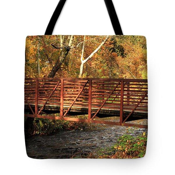 Bridge On Big Chico Creek Tote Bag