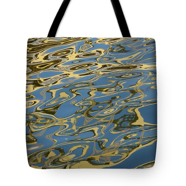 Tote Bag featuring the photograph Bridge Over Troubled Water by Jane Ford