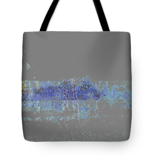 Tote Bag featuring the digital art Bridge Over Troubled Water by Ken Walker