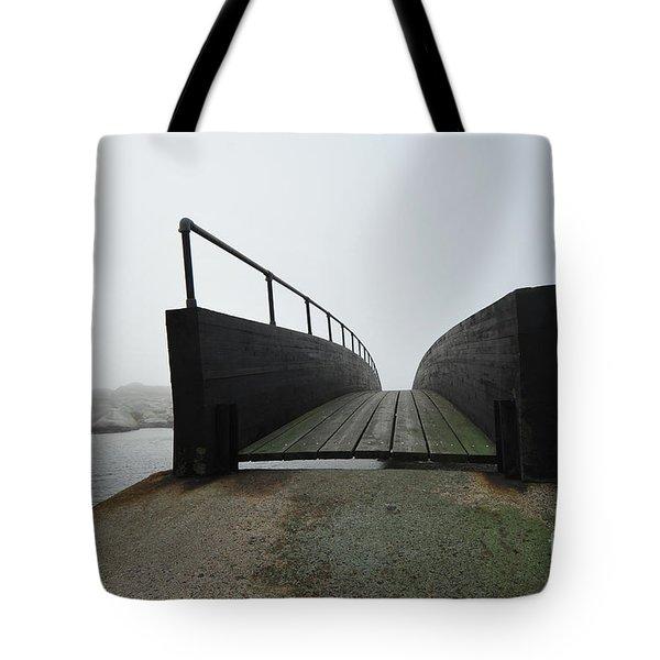 Tote Bag featuring the photograph Bridge by Randi Grace Nilsberg