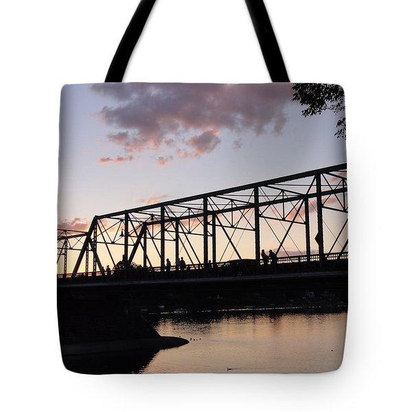Bridge Scenes August - 1 Tote Bag