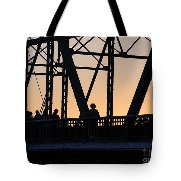 Bridge Scenes August - 2 Tote Bag