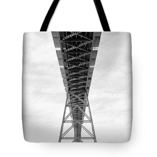 Bridge Span Tote Bag by Charmian Vistaunet