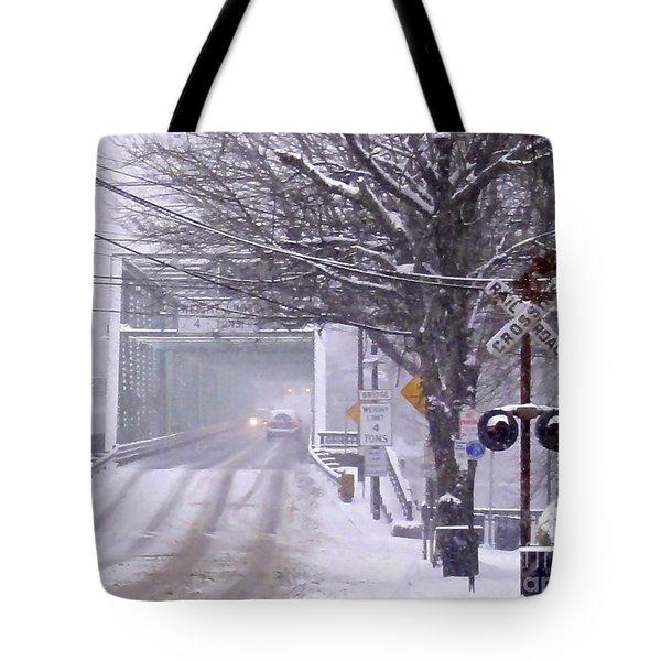 Bridge Street To New Hope Tote Bag