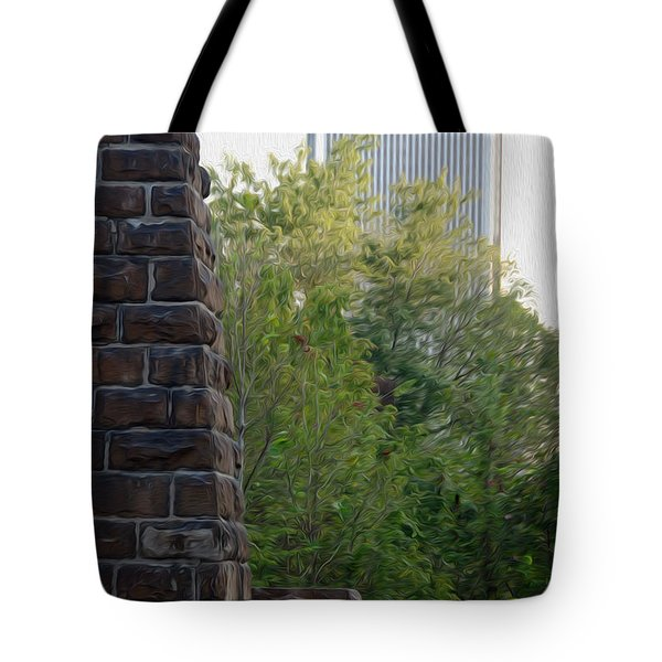 Tote Bag featuring the digital art Bridge To The Future by Kelvin Booker