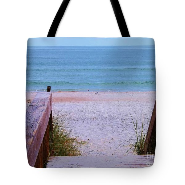 Bridge To The Sea Tote Bag