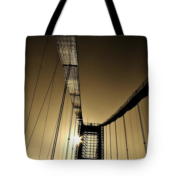 Bridge Work Tote Bag by Robert Geary