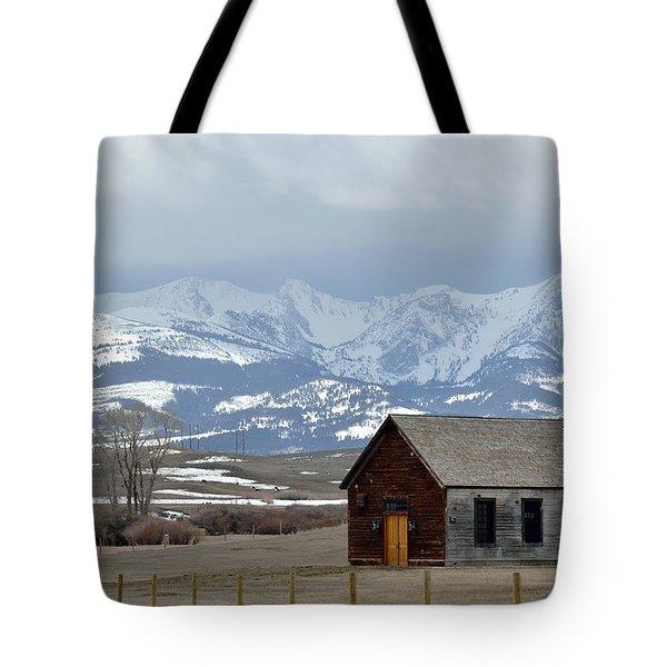 Bridger Background Tote Bag