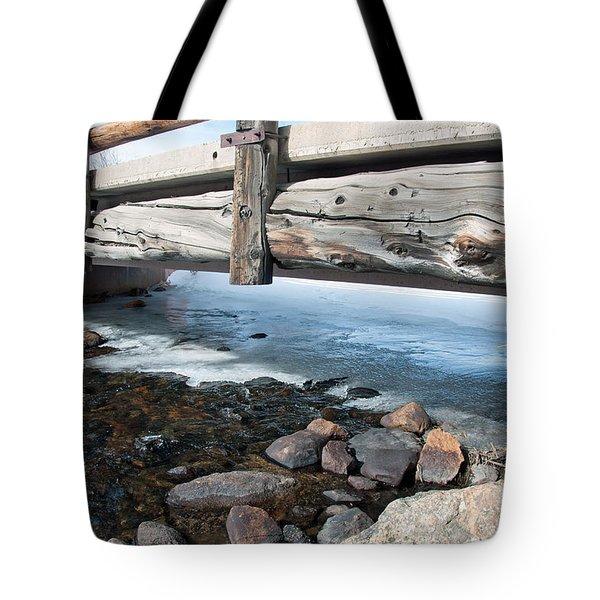 Bridges Tote Bag by Minnie Lippiatt