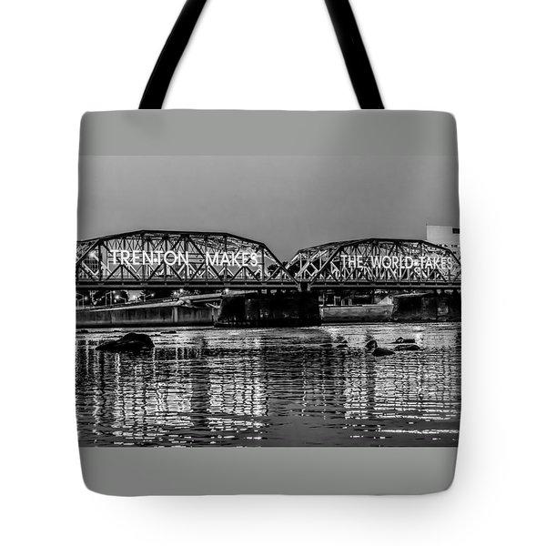 Trenton Makes Bridge Tote Bag