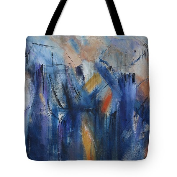 Bridging Tote Bag