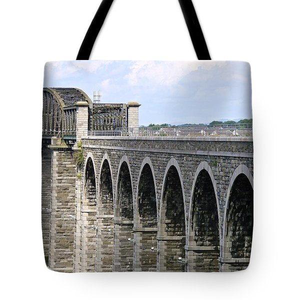 Bridging The Boyne Tote Bag
