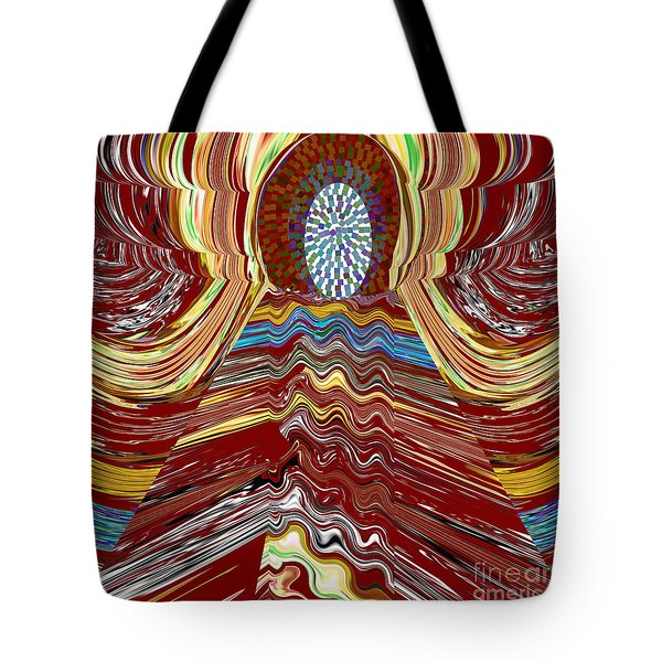 Bridge To Holy Grail Of Mystical Energies Whimisical Abstract By Navinjoshi At Fineartamerica.com  Tote Bag