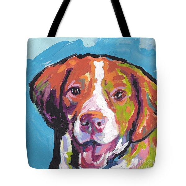 Bright Brit Tote Bag by Lea S