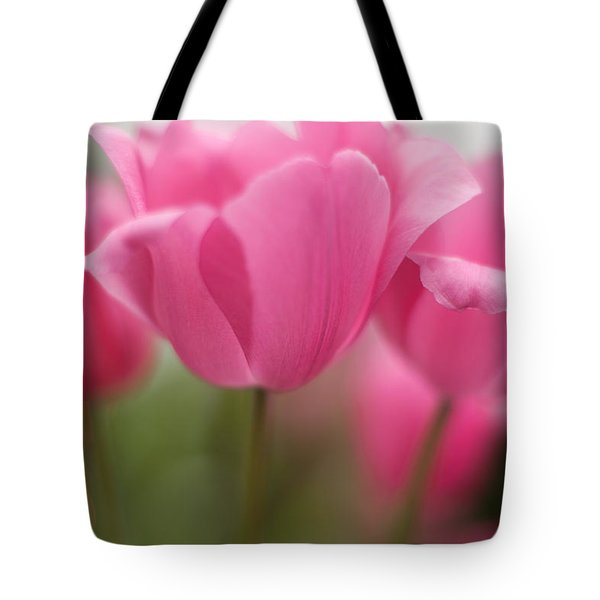 Bright Bunch Of Tulips Tote Bag by Mike Reid