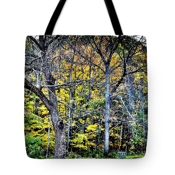 Bright Darkness Tote Bag