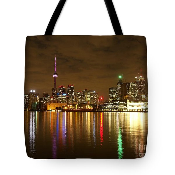 Bright Lights Big City Tote Bag by Lingfai Leung