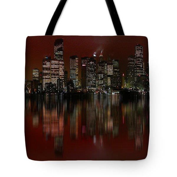 Bright Lights Tote Bag by Stuart Turnbull