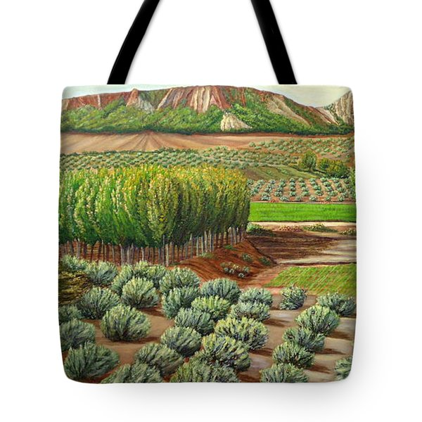 Bright Morning In Alcudia Tote Bag