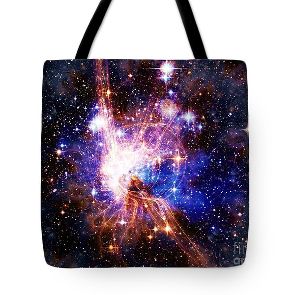 Bright Side Of The Black Hole Tote Bag by Elizabeth McTaggart