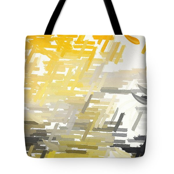 Bright Slashes Tote Bag