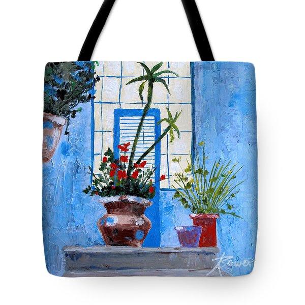 Bright Window Tote Bag