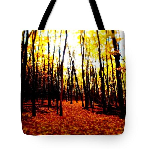 Bright Woods Tote Bag