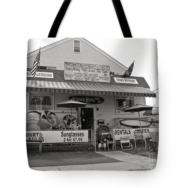 Brighton Beach Surf Shop Tote Bag