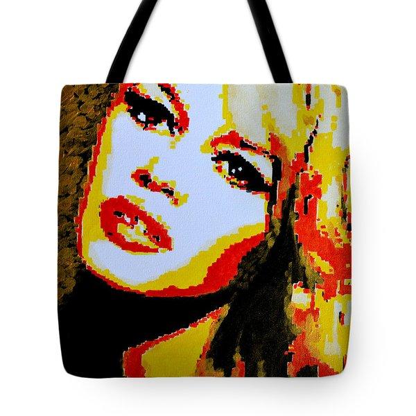 Brigitte Bardot Tote Bag by Victor Minca