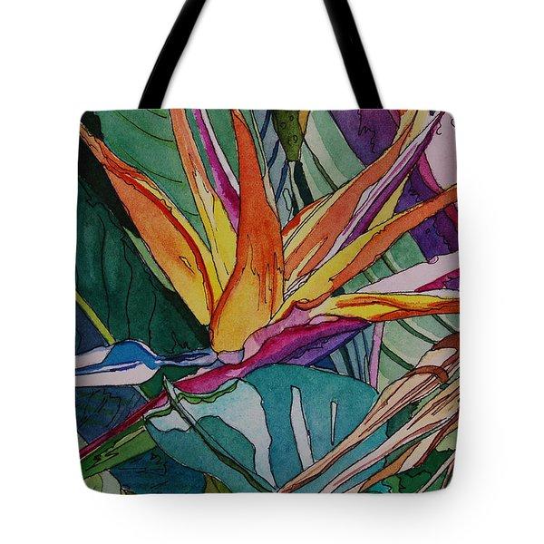 Brillant Bird Of Paradise Tote Bag
