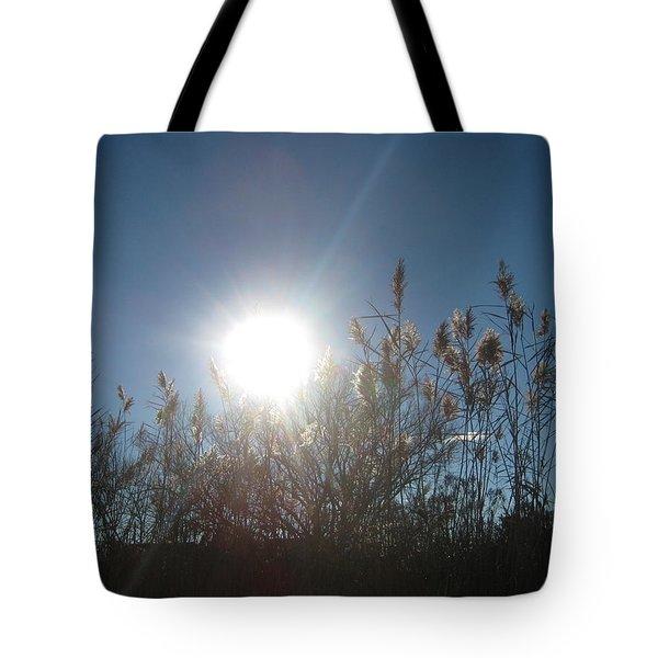 Brilliance In The Grasses Tote Bag