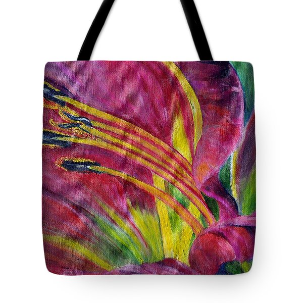 Brilliance Within Tote Bag by Marilyn  McNish