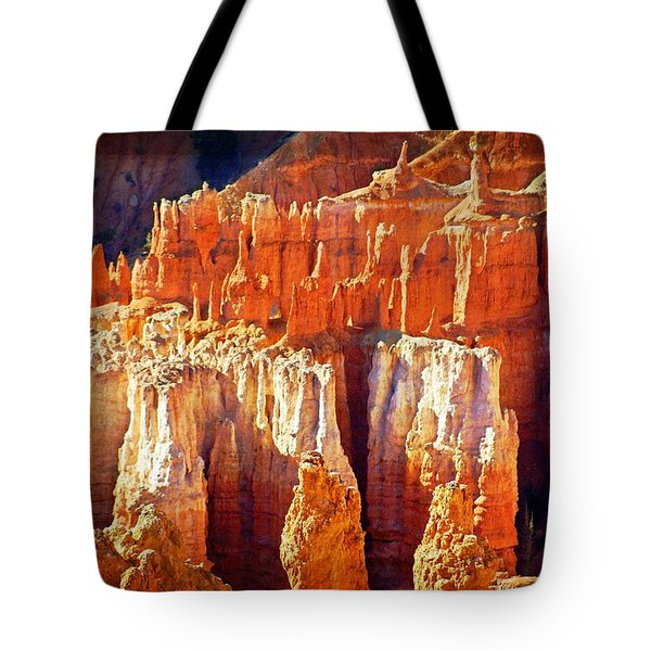 Tote Bag featuring the photograph Brilliant Bryce by Marty Koch