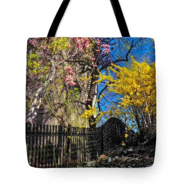 Tote Bag featuring the photograph Brilliant Day by Carol Whaley Addassi