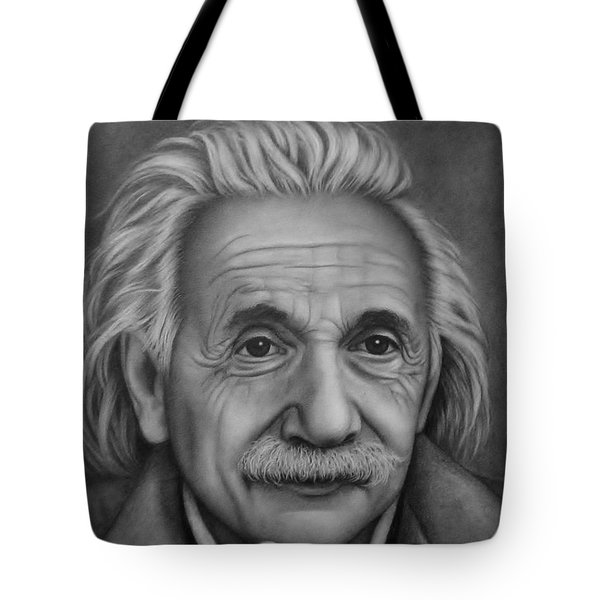 Tote Bag featuring the painting Brilliant Mind by Paula L
