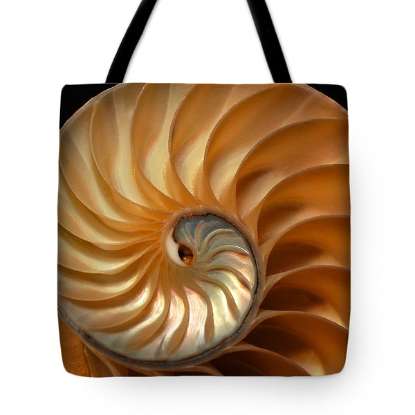 Brilliant Nautilus Tote Bag