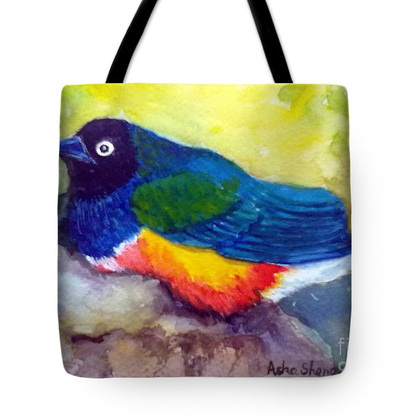 Brilliant Starling Tote Bag