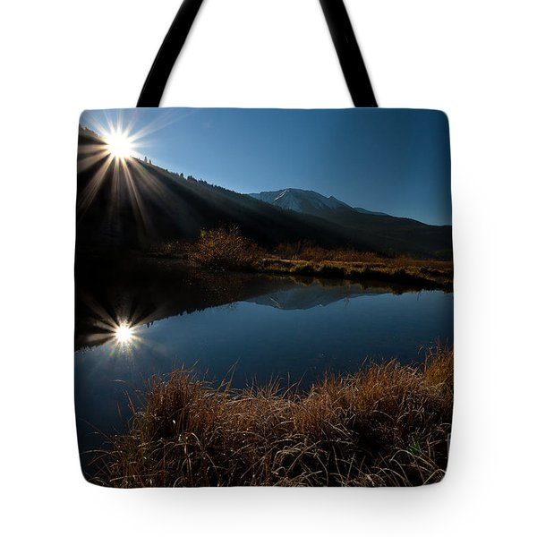 Brilliant Sunrise Tote Bag by Steven Reed