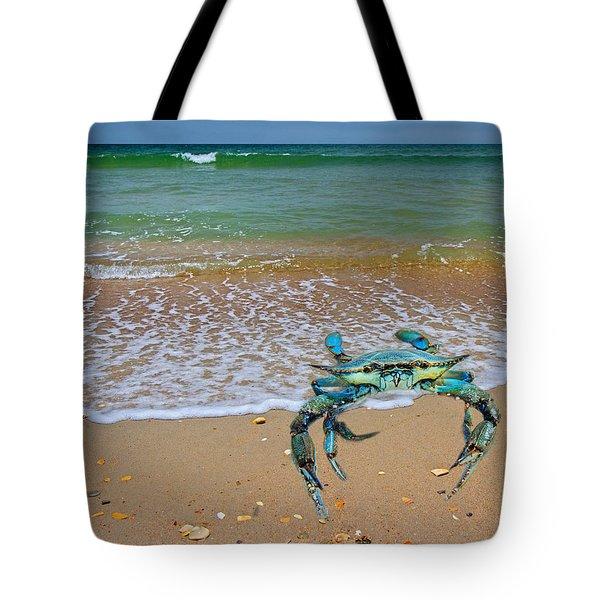 Brilliant Vivid Life Creatures Tote Bag by Betsy Knapp
