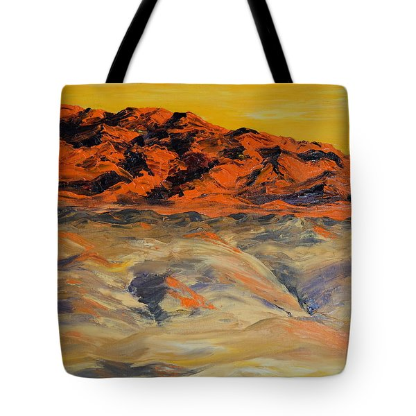 Brilliant Montana Mountains And Foothills Tote Bag