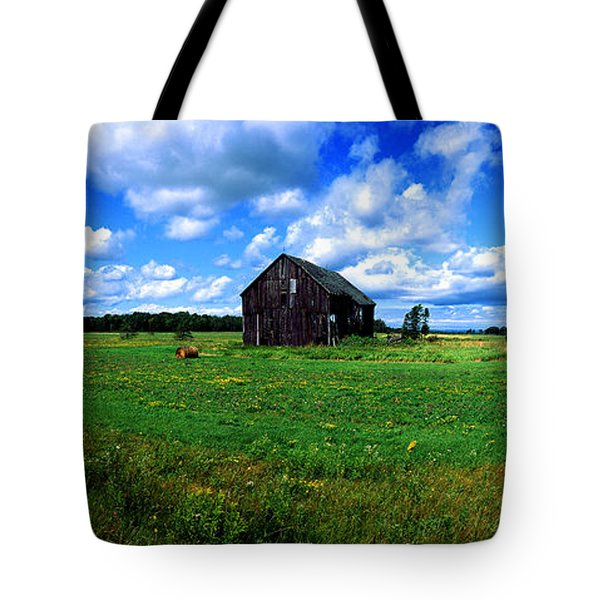 Brimley Farm Near  Sault Ste Marie Michigan  Tote Bag