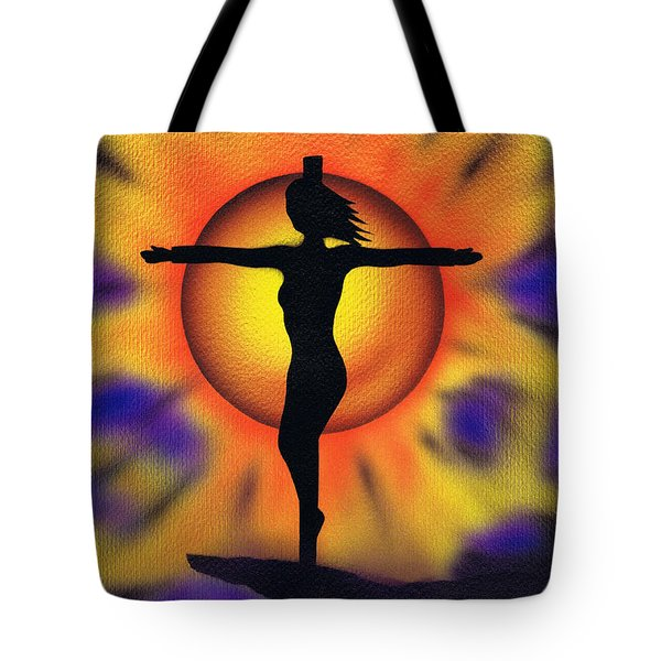 Bring Me Back To Life. Tote Bag by Kenneth Clarke