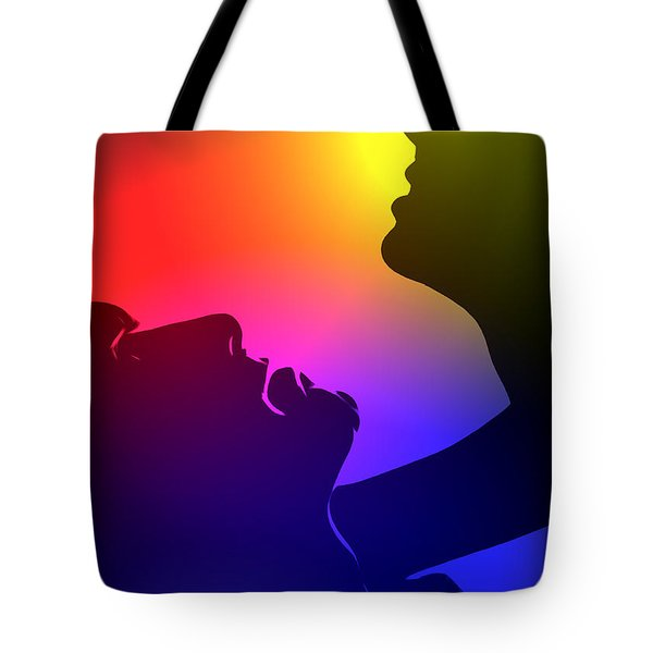 Bring Me Into The Light Tote Bag