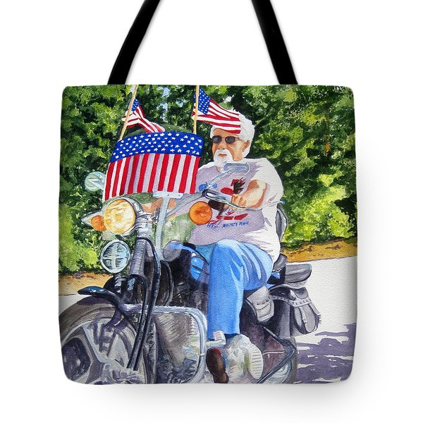 Bring On The Parade Tote Bag by Julia Rietz