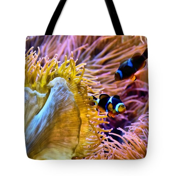 Bring Out The Clowns Tote Bag by Angelina Vick