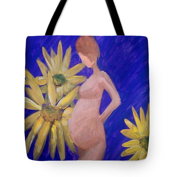 Tote Bag featuring the painting Bringer Of Life by Marisela Mungia